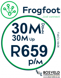 Frogfoot 30Mbps / 30Mbps