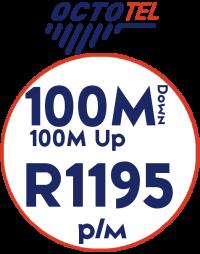 Octotel 100Mbps / 100Mbps