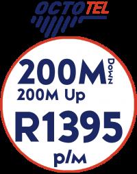 Octotel 200Mbps / 200Mbps