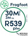 Frogfoot 30Mbps / 3Mbps