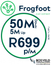 Frogfoot 50Mbps / 5Mbps