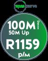 Openserve 100Mbps / 50Mbps