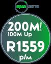 Openserve 200Mbps / 100Mbps