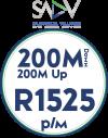 SADV 200Mbps / 200Mbps