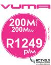 Vuma 200Mbps / 200Mbps