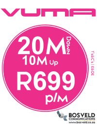 Vuma 20Mbps / 10Mbps